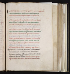 The Profession Of A Monk, In The 'Anderson' Pontifical